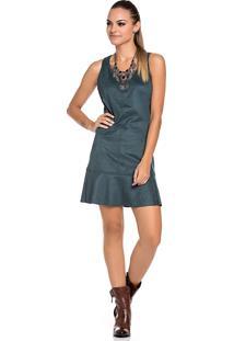978d115ab Vestido Suede Verde feminino | Gostei e agora?