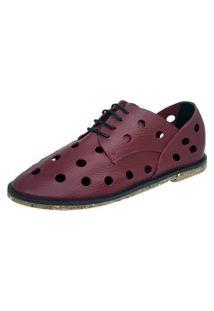 Sapato S2 Shoes Telma Grená Vinho