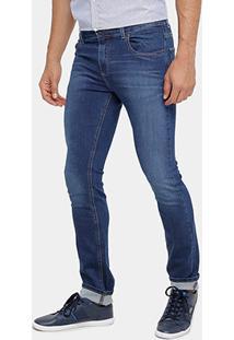 Calça Jeans Slim Fit Lacoste Stone Masculina - Masculino