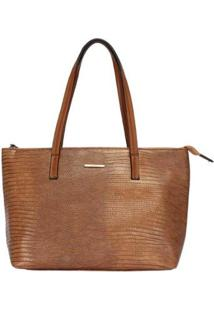 Bolsa Shopping Bag Mormaii - Feminino-Marrom