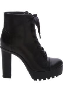 Bota Tratorada Leather Black | Schutz
