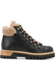 Le Silla Ankle Boots Estilo Caminhada - Preto