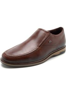 Sapato Pegada Logo Caramelo