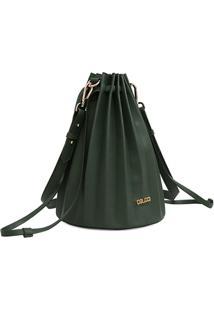 Bolsa Colcci Plissada Verde