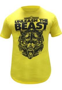 Camiseta Masculina Long Unleash The Beast - Iridiu - Masculino