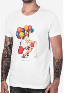 Camiseta Party Time Branca 102523