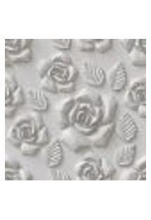 Papel De Parede Adesivo 3D Flores 460513393 Rolo 0,58X3M