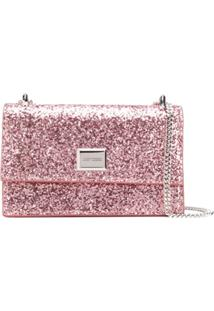 Jimmy Choo Clutch Leni - Rosa