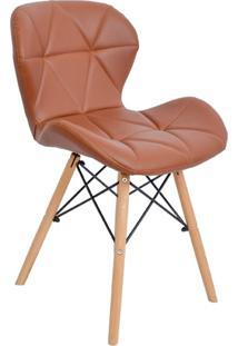 Cadeira Império Brazil Slim Wood Estofada