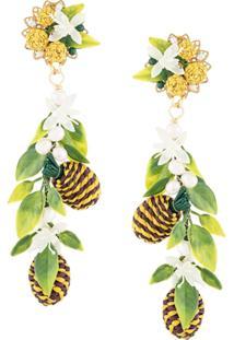 Mercedes Salazar Tropical Earrings - Verde
