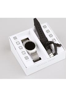 Relógio Seculus Smart Visor Touch Masculino Troca Pulseira - 79001M0Svne2 Prateado - Único