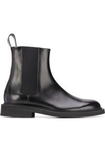 Bottega Veneta Ankle Boot Beatle - Preto