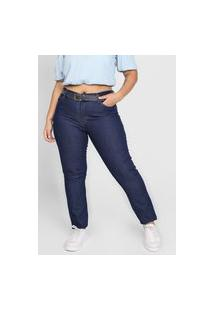Calça Jeans Planet Girls Skinny Lisa Azul-Marinho