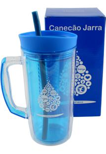 Jarra Canudo Gota Água