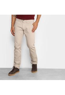 Calça Slim Fit Forum Paul Color Masculina - Masculino