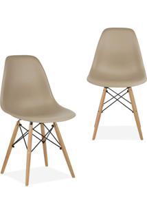 Kit 02 Cadeiras Decorativas Lym Decor Eiffel Charles - - Dafiti