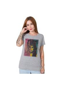 Camiseta Stoned Amy Winehouse Cinza