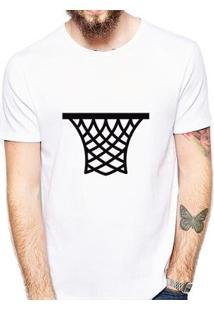 Camiseta Coolest Cesta Masculina - Masculino-Branco