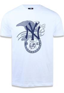Camiseta New Era Regular New York Yankees Branco