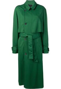 Haider Ackermann Trench Coat - Verde