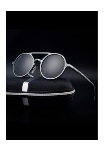 Óculos De Sol Estilo Gatsby Xy053 - Chumbo E Cinza