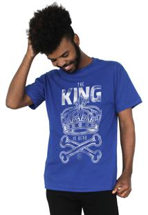 Camiseta Bleed American King Is Dead Azul