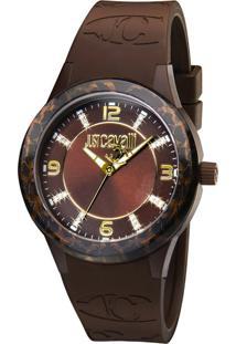 Relógio Just Cavalli Wj20322R Marrom Conhaque
