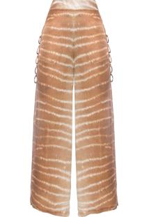 Calça Feminina Pantalona Selvagem - Marrom