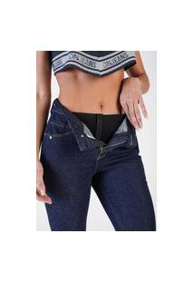 Calça Jeans Denuncia Skinny Lipo Z 206324244 Azul