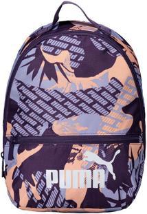 Mochila Puma Core Backpack Roxa