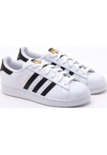 162665cd62f ... Tênis Adidas Superstar Originals Branco Feminino 36