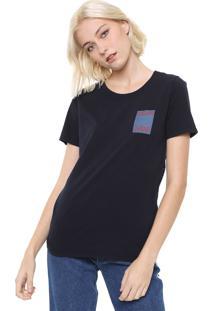 Blusa Calvin Klein Jeans Logo Azul-Marinho