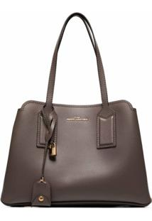 The Marc Jacobs Bolsa Tiracolo Editor 38 - Cinza