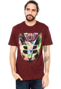 Camiseta Blunt Sphynx Tie Dye Vinho