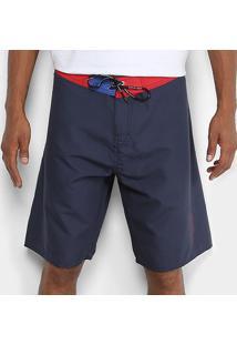 Bermuda D'Água Calvin Klein Básica Masculina - Masculino-Marinho