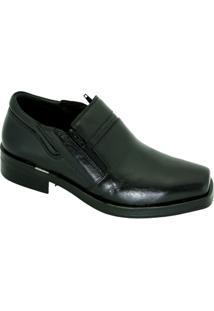 Sapato Social Masculino Ferracini - Masculino-Preto