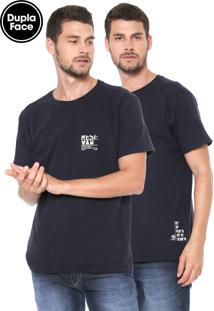 Camiseta Reserva Dupla Face Azul-Marinho