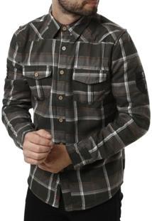 Camisa Forrada Gangster Manga Longa Masculina - Masculino