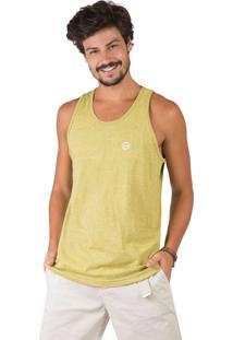 Regata Amarela Poliester masculina   Moda Sem Censura e5f817c56e