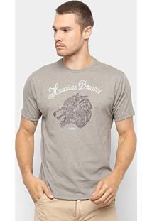 Camiseta Hd Estampa Wolf Pack Masculina - Masculino