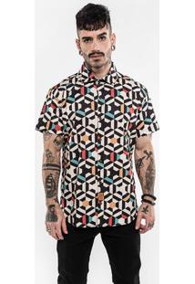 Camisa Geometric Color 200115