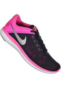 Calçado Tênis Rosa Feminino Nike Training Academia 2016 Aberto Flex Rn
