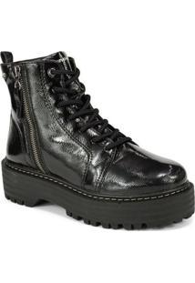 Bota Cravo E Canela Ankel Boot Feminina