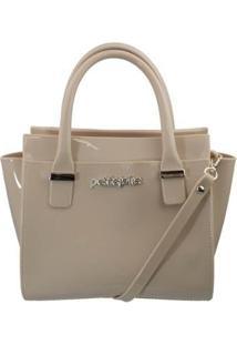 Bolsa Petite Jolie Love Bag Feminina - Feminino-Marrom