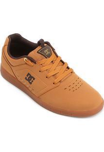 Tênis Dc Shoes Cole Signature Masculino - Masculino-Caramelo