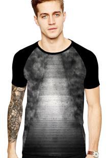 Camiseta Stompy Tattoo Rock Collection 146 Preto