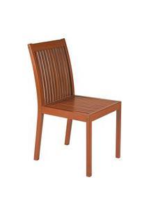 Cadeira Fitt Tramontina Caramelo