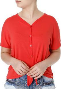 Camisa Feminina Autentique Vermelho
