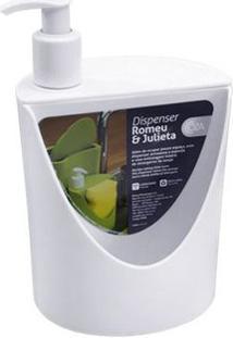 Dispenser Romeu & Julieta Branco 600Ml 10837/0007 - Coza - Coza