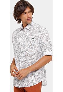 Camisa Colcci Tric Tint Masculina - Masculino